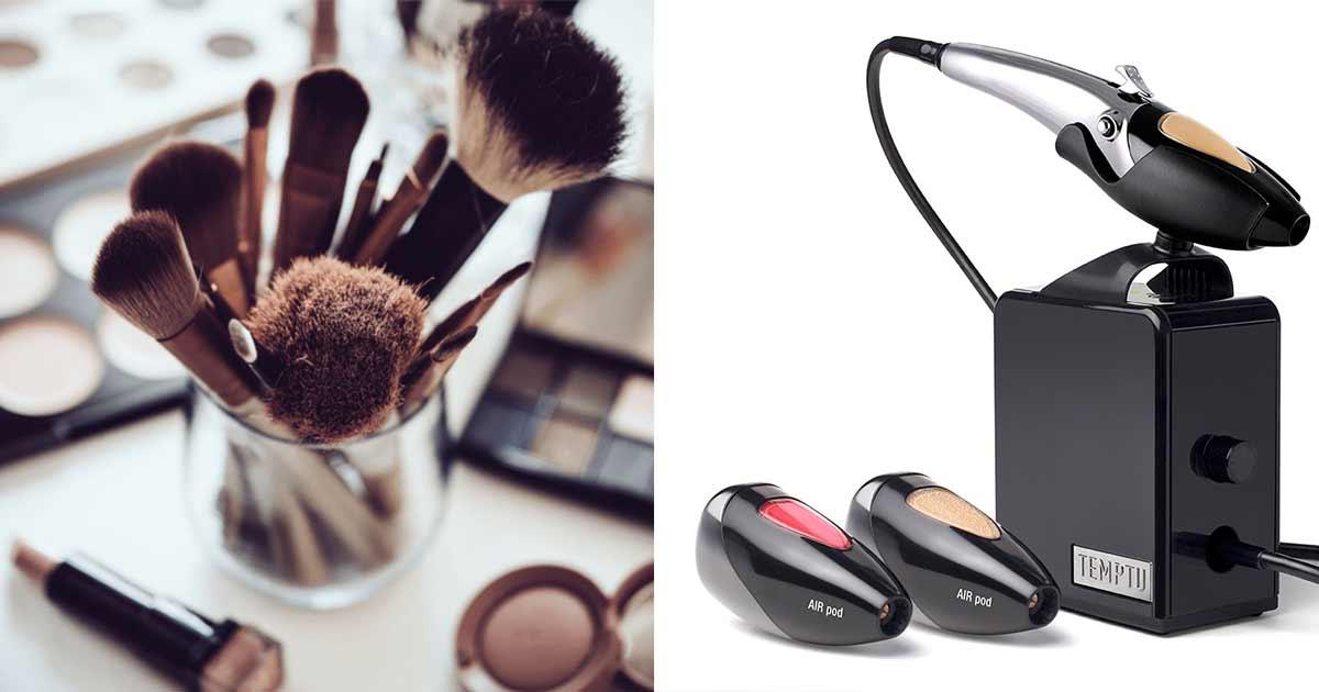 喷枪化妆 vs 传统化妆