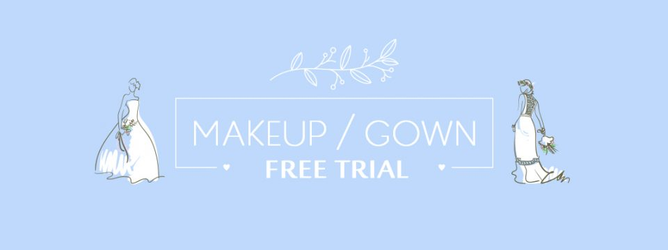 FREE BRIDAL MAKEUP | GOWN TRIAL